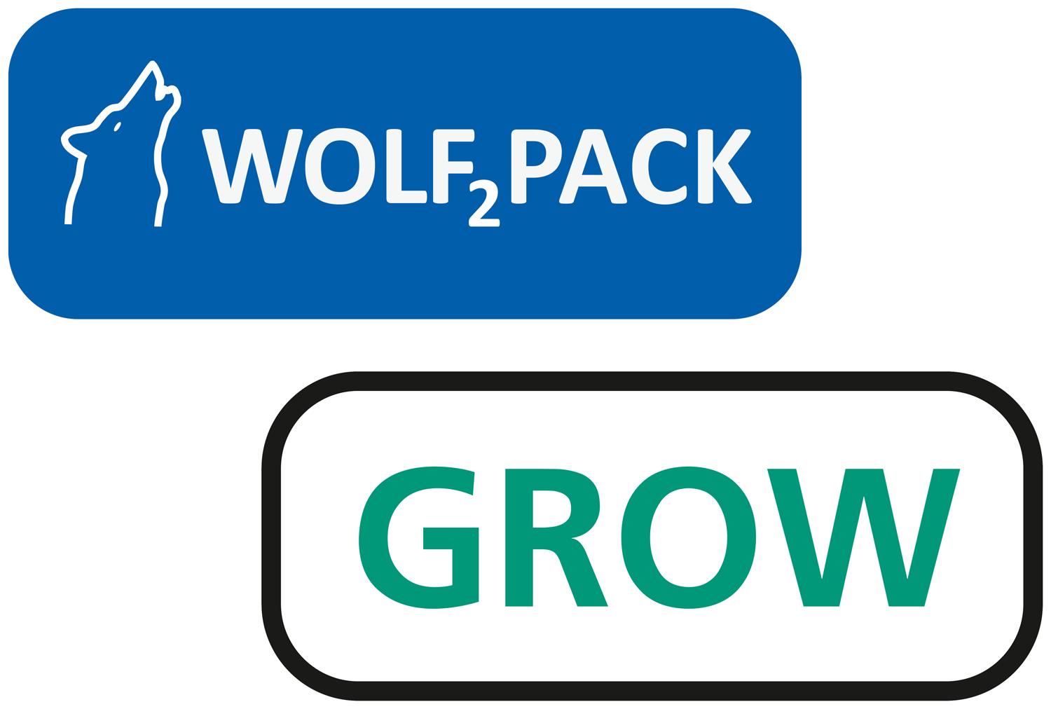 Logo Wolf2Pack Grow